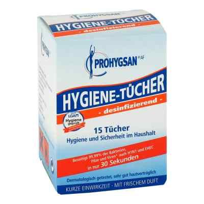 Prohygsan Hygiene Tücher Af desinfizierend  bei juvalis.de bestellen