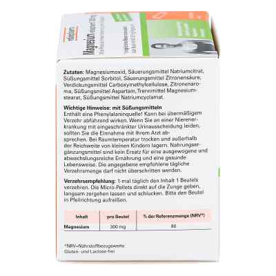 Magnesium Ratiopharm 300 mg Micro Pell.m.gran.  bei juvalis.de bestellen