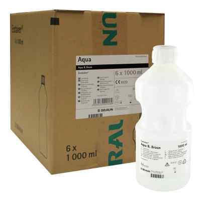 Aqua B.braun Spüllösung Kunststoff Flasche  bei juvalis.de bestellen