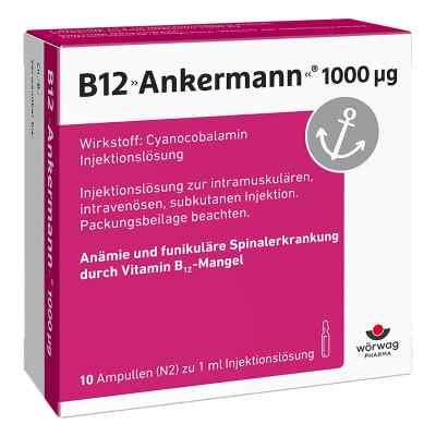 B12 Ankermann 1000 [my]g Ampullen  bei juvalis.de bestellen