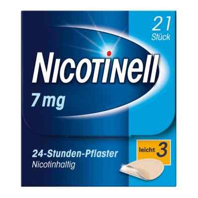 Nicotinell 7mg/24-Stunden-Nikotinpflaster, Leicht (3)  bei juvalis.de bestellen