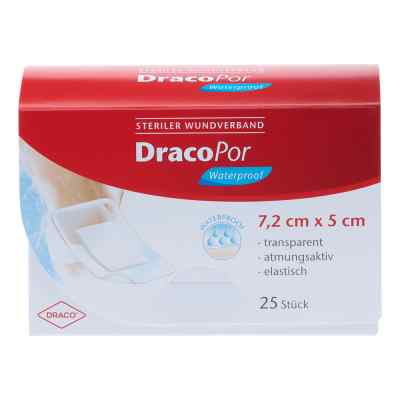 Dracopor waterproof Wundverband steril 5x7,2cm  bei juvalis.de bestellen