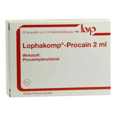 Lophakomp Procain 2 ml Injektionslösung  bei juvalis.de bestellen