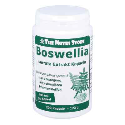 Boswellia 400 mg Extrakt vegetarische Kapseln  bei juvalis.de bestellen