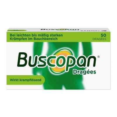Buscopan Dragées bei leichten bis moderaten Bauchkrämpfen  bei juvalis.de bestellen