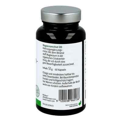 Nicapur Magnesiumcitrat 120 Kapseln  bei juvalis.de bestellen