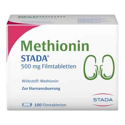 Methionin Stada 500 mg Filmtabletten  bei juvalis.de bestellen