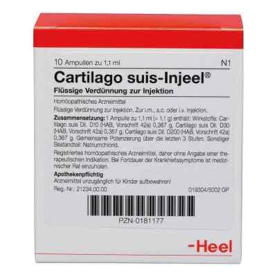 Cartilago suis Injeel Ampullen  bei juvalis.de bestellen