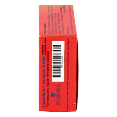 Carotinin + Calcium D 400 Kapseln  bei juvalis.de bestellen