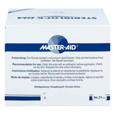 Steriblock Dialyse-pflaster 86x25mm Master Aid  bei juvalis.de bestellen