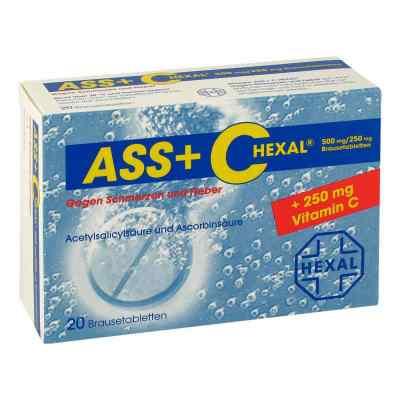 ASS+C HEXAL gegen Schmerzen und Fieber  bei juvalis.de bestellen
