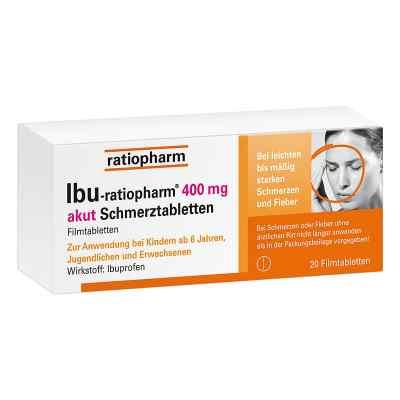 IBU-ratiopharm 400 akut Schmerztabletten  bei juvalis.de bestellen