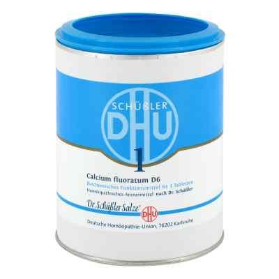 Biochemie Dhu 1 Calcium fluorat.D 6 Tabletten  bei juvalis.de bestellen