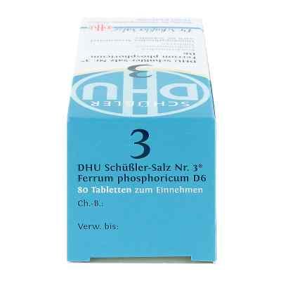 Biochemie Dhu 3 Ferrum Phosphoricum D6 Tabletten  bei juvalis.de bestellen