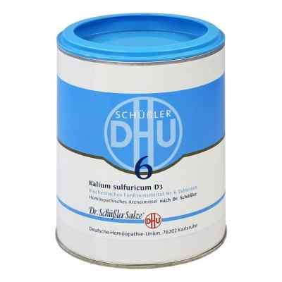 Biochemie Dhu 6 Kalium Sulfur D  3 Tabletten  bei juvalis.de bestellen