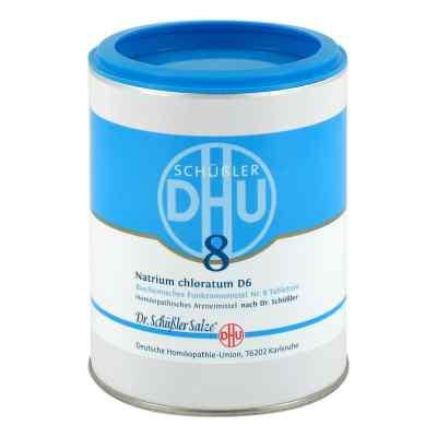 Biochemie Dhu 8 Natrium chlor. D 6 Tabletten  bei juvalis.de bestellen