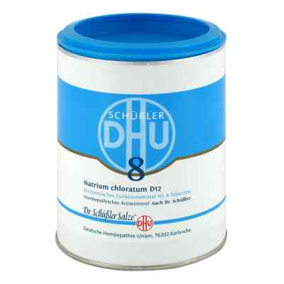 Biochemie Dhu 8 Natrium chlor. D 12 Tabletten  bei juvalis.de bestellen