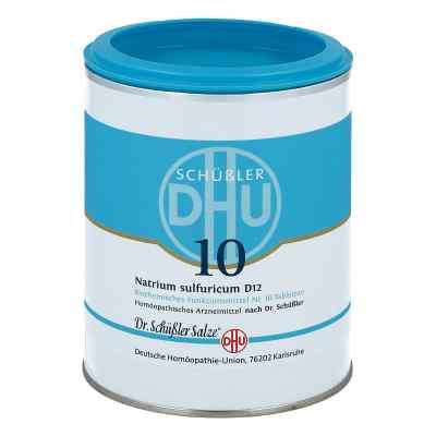 Biochemie Dhu 10 Natrium Sulfur D12 Tabletten  bei juvalis.de bestellen