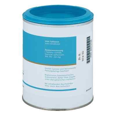 Biochemie Dhu 10 Natrium Sulfur D  12 Tabletten  bei juvalis.de bestellen