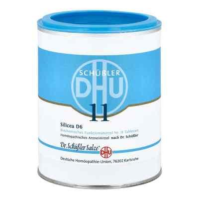 Biochemie Dhu 11 Silicea D 6 Tabletten  bei juvalis.de bestellen