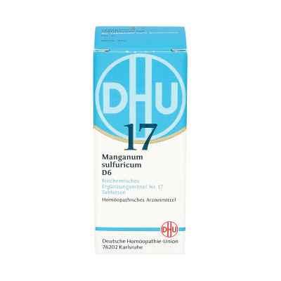 Biochemie Dhu 17 Manganum sulfuricum D 6 Tabletten  bei juvalis.de bestellen
