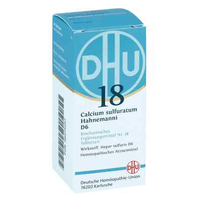 Biochemie Dhu 18 Calcium sulfuratum D 6 Tabletten  bei juvalis.de bestellen