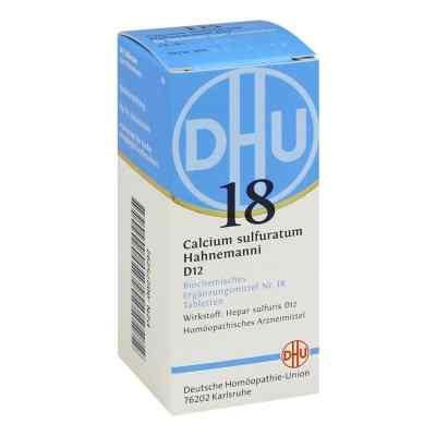 Biochemie Dhu 18 Calcium sulfuratum D12 Tabletten  bei juvalis.de bestellen