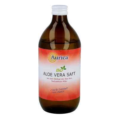 Aloe Vera Saft Bio 100%  bei juvalis.de bestellen