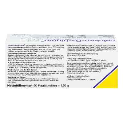 Calcium D3 biomo Kautabletten 500+d  bei juvalis.de bestellen