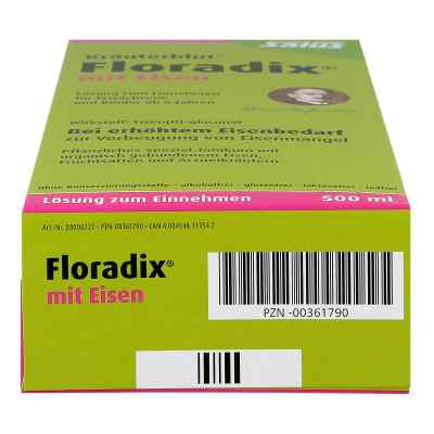 Floradix mit Eisen  bei juvalis.de bestellen