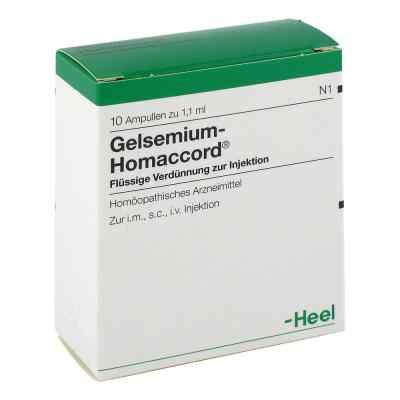 Gelsemium Homaccord Ampullen  bei juvalis.de bestellen