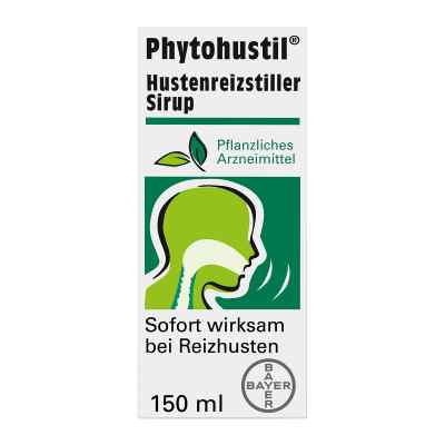 Phytohustil Hustenreizstiller Sirup bei Reizhusten  bei juvalis.de bestellen