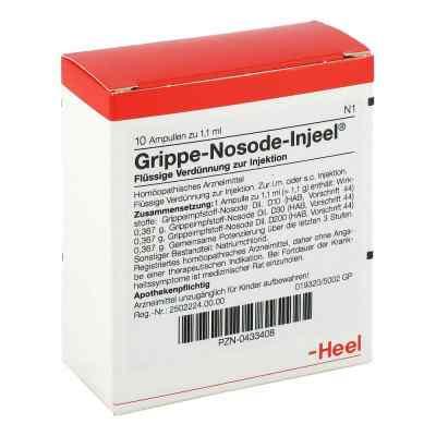 Grippe Nosode Injeel Ampullen  bei juvalis.de bestellen