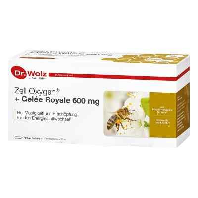 Zell Oxygen + Gelee Royale 600 mg Trinkampullen  bei juvalis.de bestellen