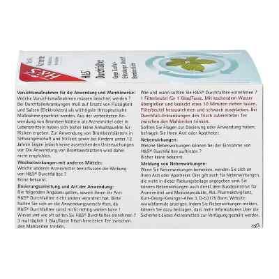 H&S Durchfalltee  bei juvalis.de bestellen
