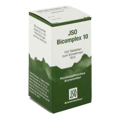 Jso Bicomplex Heilmittel Nummer  10  bei juvalis.de bestellen