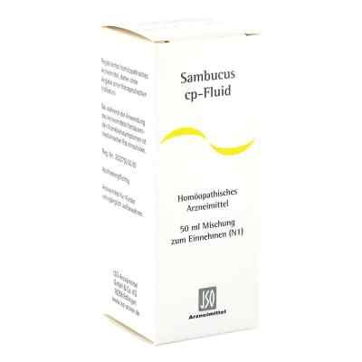 Sambucus Cp Fluid Lösung  bei juvalis.de bestellen
