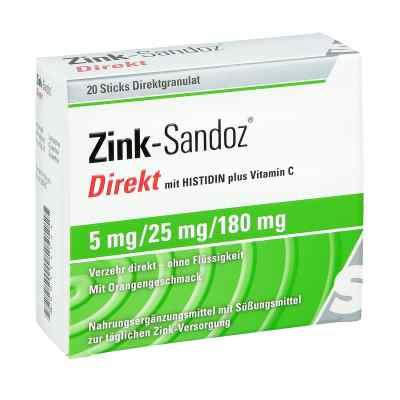 Zink Sandoz Direkt Beutel  bei juvalis.de bestellen