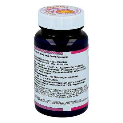L-ornithin 400 mg Kapseln  bei juvalis.de bestellen