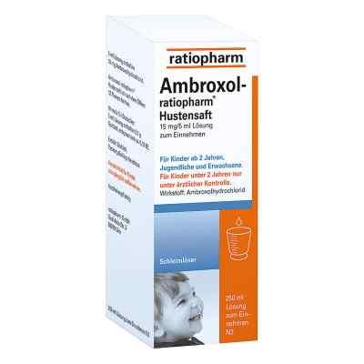Ambroxol-ratiopharm Hustensaft  bei juvalis.de bestellen