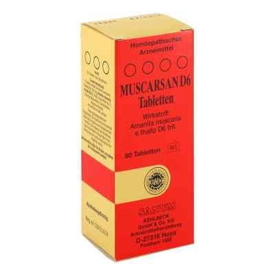Muscarsan D6 Tabletten  bei juvalis.de bestellen