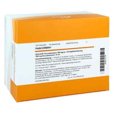 Pascorbin 750 mg Ascorbinsäure/5ml iniecto -lösung  bei juvalis.de bestellen