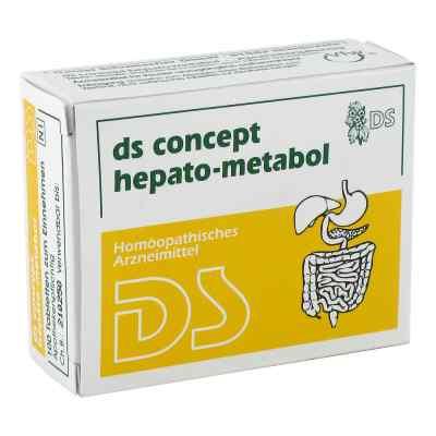Ds Concept Hepato Metabol Tabletten  bei juvalis.de bestellen