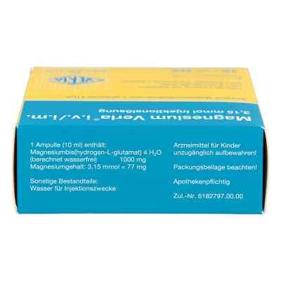 Magnesium Verla intravenös /i.m. Injektionslösung  bei juvalis.de bestellen