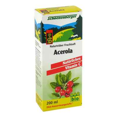 Acerola Saft Schoenenberger  bei juvalis.de bestellen