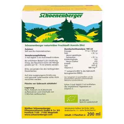 Acerola Saft Schoenenberger Heilpflanzensäfte  bei juvalis.de bestellen