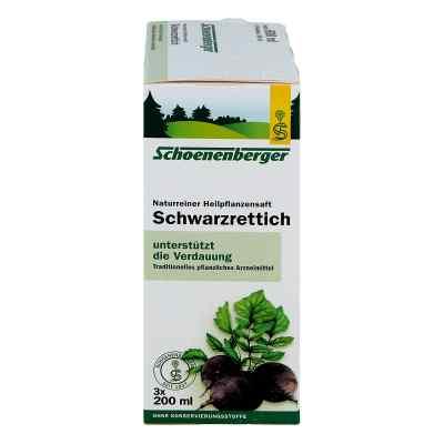 Schwarzrettichsaft Schoenenberger  bei juvalis.de bestellen