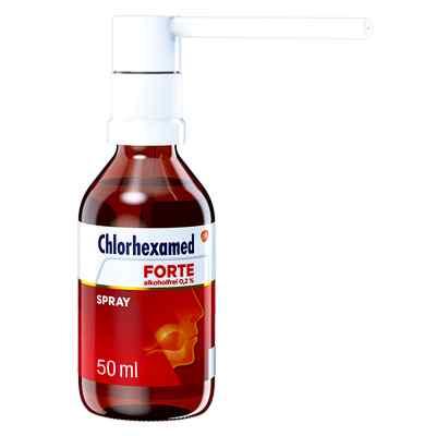 Chlorhexamed FORTE alkoholfrei 0,2%, Anwendung als Spray  bei juvalis.de bestellen