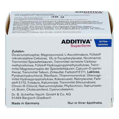 Additiva Superform Filmtabletten  bei juvalis.de bestellen