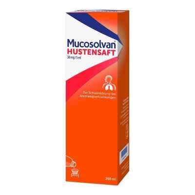 Mucosolvan Hustensaft 30mg/5ml Schleimlöser bei Husten  bei juvalis.de bestellen